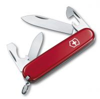 Нож перочинный Victorinox Recruit 84 мм 10 функций Красный